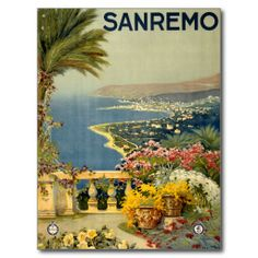 Sanremo San Remo Italy Itallia Vintage Travel Post Cards lowest price for you. In addition you can compare price with another store and read helpful reviews. BuyReview          	Sanremo San Remo Italy Itallia Vintage Travel Post Cards Online Secure Check out Quick and Easy...