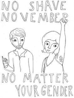 No Shave November.