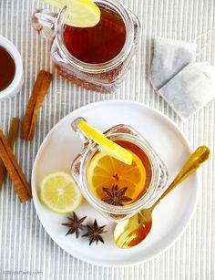 Spiced Earl Grey Hot Toddy Recipe - BirdsParty.com