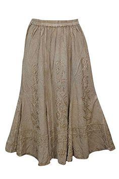 Women's Bohemian Chic Skirt Embroidered Rayon Maxi Skirts... https://www.amazon.com/dp/B01NAYJQKU/ref=cm_sw_r_pi_dp_x_AlBRybWRKY55X
