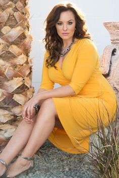 What will you wear this Mother's Day? We highly recommend our plus size Ciara Cinch Dress with its bodycon fit to show off your curves. Find more made in the USA fashions at www.kiyonna.com. #kiyonnaplusyou