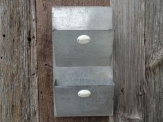 Metal Wall Mail Organizer weathered wall organizer | wall storage | restoration hardware