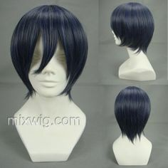 Ash-Ciel Phantomhive Short Cosplay WigHair Style: MSN face short wigMaterial: High Temperature Heat Resistant Synthetic Fiber ( Freely Shape, Heat Resistant up to 180°)Length: 35cmColor: Mixed Silver,grey and blueCharacter name:Ash Ciel PhantomhiveTitle: AshWeight: 140gOccasion: Custumes, Cosplay, Anime,Holiday, Party $16.70