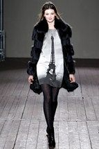 Moschino Cheap & Chic Ready-To-Wear  Autumn/Winter 2011-12  parisian style - eiffel tower prints/ motifs