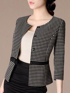 Cheap Women S Fashion Blazers Suit Fashion, Fashion Dresses, Womens Fashion, Suits For Women, Clothes For Women, Corporate Attire, Blazer Outfits, Dress Suits, Elegant Outfit