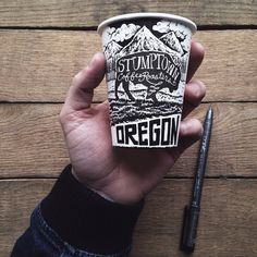 stumptown coffee roasters illustration