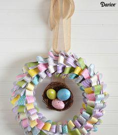 DIY-Paper-Easter-Wreath-Darice-10