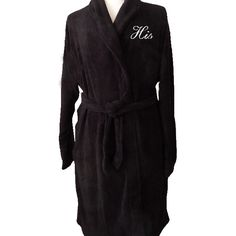 Embroidered Luxury Fleece Robe What Should I Get My