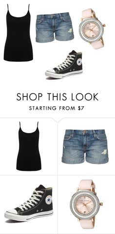 """Ven"" by katkahrdl-1 on Polyvore featuring interior, interiors, interior design, home, home decor, interior decorating, M&Co, Current/Elliott, Converse and Ted Baker"