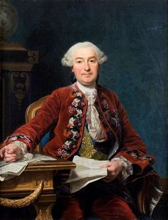Portrait of Ulrik Scheffer by Alexander Roslin, 1763