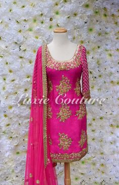 36 Ideas For Wedding Dresses Pakistani The Bride Punjabi Suits Designer Boutique, Indian Designer Suits, Indian Suits, Indian Attire, Boutique Suits, Punjabi Dress, Pakistani Dresses, Indian Dresses, Indian Clothes