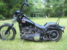 custom harley seat and sissy bar | Softail sissy bars?-my-night-train-080.jpg