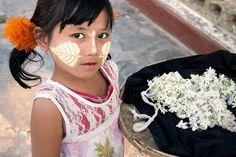 Thanaka. Mandalay, Myanmar | by Marji Lang Photography