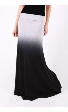 Banded Ombre Maxi Skirt - Apostolic Clothing but maybe colors reversed so people don't see my underwear