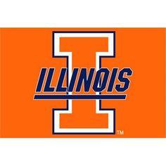 Illinois Fighting Illini NCAA Tufted Rug (30x20)