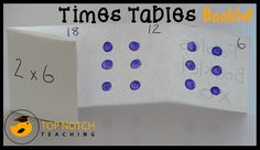 Being able to recall multiplication facts (times tables) is an important part of mathematics. Here I share with you an alternative way to practice the times tables rather than solely focusing on dr. Learning Multiplication Facts, Math Facts, Maths, Sixth Grade Math, Fourth Grade Math, Teaching Special Education, Teaching Math, Math Resources, Math Activities