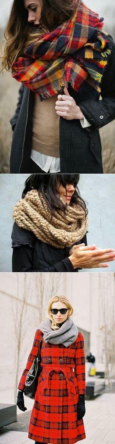 exPress-o: Autumn = Chunky Scarves.