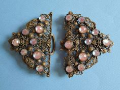 Antique-Edwardian-Saphiret-Buckle-c1910