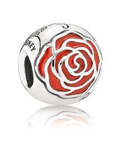 Pandora UK Belle's Enchanted Rose Charm