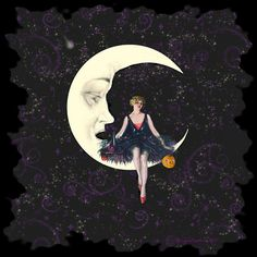 Sittin Pretty Halloween Witch by Into Creating, via Flickr