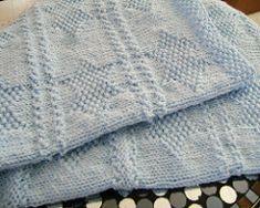 Ravelry: Knit and Purl Baby Blanket pattern by Caroline Birkett