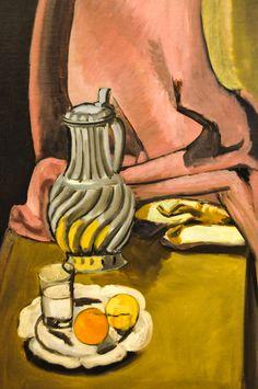 Henri Matisse 1869-1964 The Pewter Jug, 1917 36 ⅜ x 25 ½ in. Baltimore Museum of Art Baltimore MD