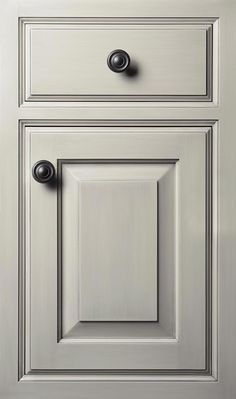 """Vintage 1"""" thick door done in Maple with ALL NEW Foxtail finish"""