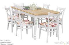 Stół Lawenda, Sedia - Meble