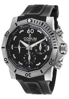 Special Offers Save Off Corum Men's Admiral's Cup Auto Chrono Corum Watches, Breitling Watches, Discount Watches, Watch Model, Black Rubber, Casio Watch, Luxury Jewelry, Luxury Watches, Watches For Men