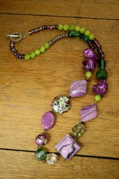 Cool Mardi Gras Necklace!