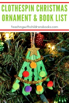 I have such fond memories of making ornaments with my kids when they were younger. This clothespin Christmas tree ornament will look lovely hanging on yours! christmas ornaments for kids Clothespin Christmas Tree Ornament Crochet Christmas Ornaments, Christmas Crafts For Gifts, Preschool Christmas, Christmas Mom, Christmas Tree Decorations, Christmas Ideas, Snow Ornaments, Ornament Tree, Christmas Activities