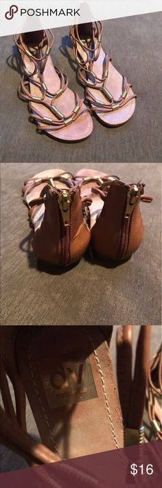 Dolce Vita sandals Dolce Vita brown sandals in good condition with some wear on bottoms from use Dolce Vita Shoes Sandals