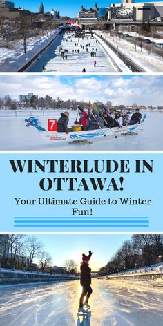 Winterlude in Ottawa - I can't wait till the Hubbs and I will be there in February!!!