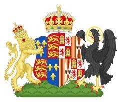 Coat of Arms of Katherine of Aragón, Queen of England
