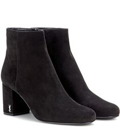 Saint Laurent Babies 70 Suede Ankle Boots For Spring-Summer 2017