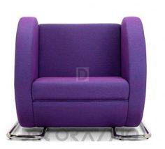 #violet #purple #armchair #furniture #design #interior кресло Adrenalina Tube, ATT9P