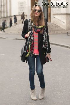 a simple street style