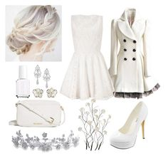 """""""White"""" by agnes-kathryn ❤ liked on Polyvore featuring Shaun Leane, Essie, Vera Bradley, Michael Antonio, Wrapped In Love, Lipsy, Bling Jewelry and Universal Lighting and Decor"""