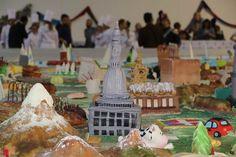 ...torta cake design dell'Italia formato maxi entra nel guinness...