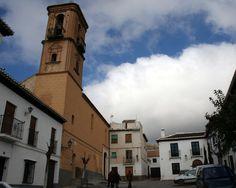 """#Granada - #Diezma - Iglesia de la Anunciación / 37º 19' 15 -3º 19' 55"""" /  El nombre del pueblo hace alusión al repartimiento de tierras. En la foto se aprecia la Iglesia construida en 1545 bajo la advocación de Nuestra Señora de la Anunciación y se consagró con la denominación actual en el siglo XVIII."""