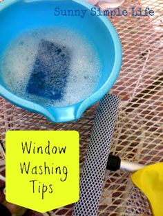 Tips for Washing Windows and Shower Doors - Sunny Simple Life