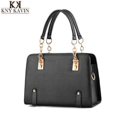 cd928ebc8063 2016 Women PU Leather Handbag Bags Ladies Fashion Designer Handbag Chain Shoulder  Crossbody Bags Tote Bag