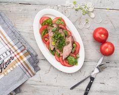 Angus picanha ja tomaattia, 52 Weeks of Deliciousness