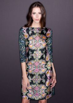 Kristinit : sophisticated eco fashion : Silk Love Dress Copy - made in Los Angeles, California #madeintheusa