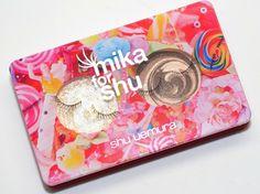Mika for Shu: Sneak Peak at Shu Uemura's Latest Collection