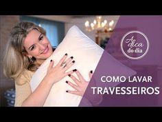 lavar travesseiro | #aDicadoDia Flávia Ferrari
