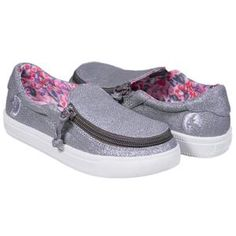 Zip quickly into your shoes in style. Fast, fun, easy, empowering—BILLY goes universal, combining fashion with function and adaptive with mass market. Luna Shoes, Kids Braces, Adaptive Equipment, Special Needs, Boutique, Baby Shoes, Women's Shoes, Fashion Shoes, Kids Outfits