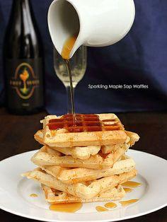Vegan Maple Waffles
