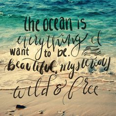 Quote Of The Day....ocean Therapy!!☀
