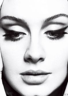 Too many beautiful pictures of her to choose from, here's a favorite - Adele